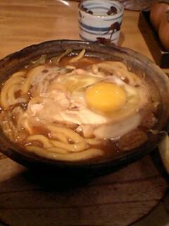 名古屋で昼食中