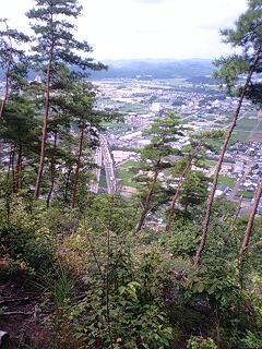 松鞍山からの眺望