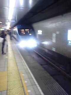 地下鉄で特急